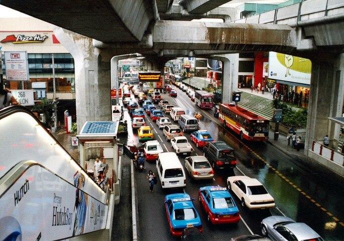 Трансфер Бангкок Паттайя на такси