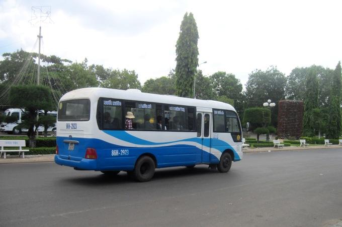 Автобус №1 Фантьет - Муй Нэ, Вьетнам
