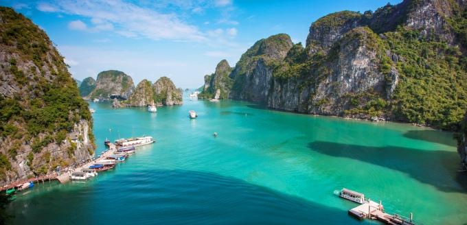 Как добраться до бухты Халонг, Вьетнам