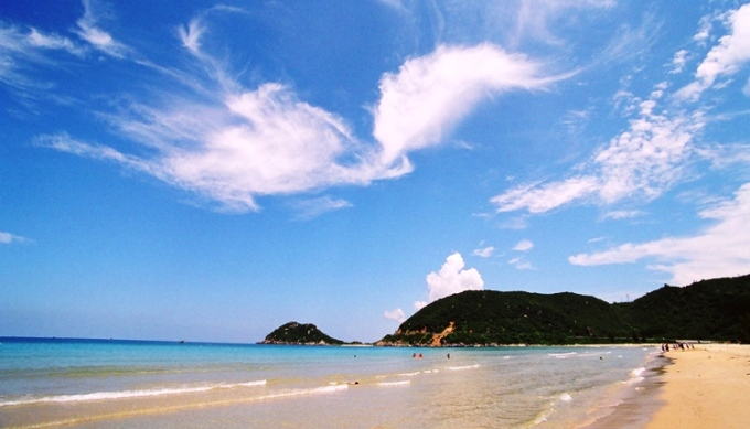 Пляж Дай Лан севернее Нячанга