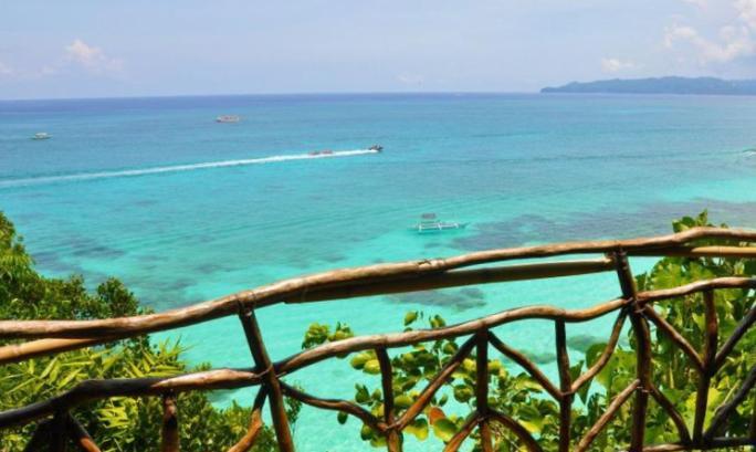 Пляж Балинг Хэй на Боракае