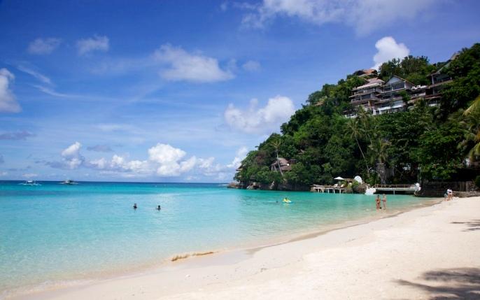 Пляж Динивид на острове Боракай
