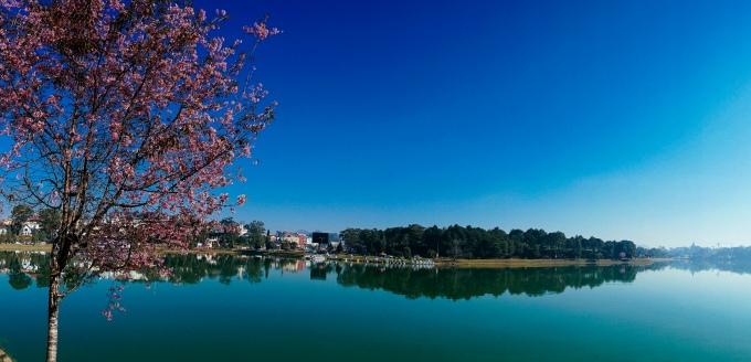 Озеро Суан Хыонг в Далате