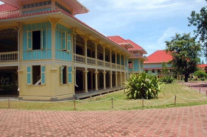 Дворец Maruekhathaiyawan рядом с Хуахином