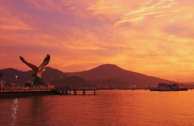 Площадь Орла на острове Лангкави