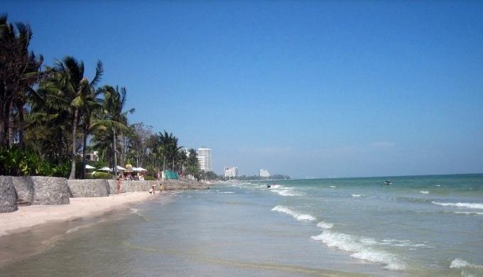 Городской пляж Хуахина - фото и видео