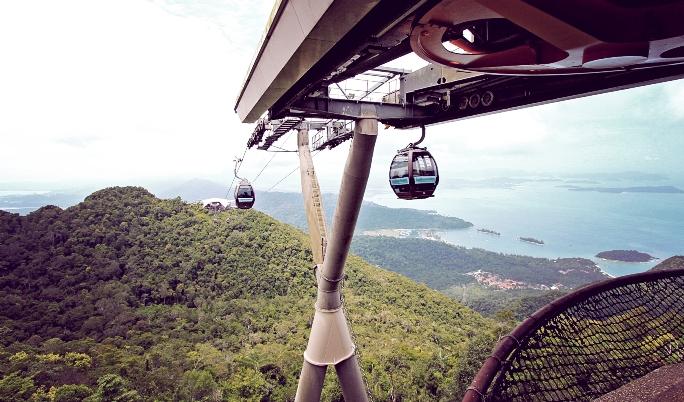 Канатная дорога Лангкави Малайзия