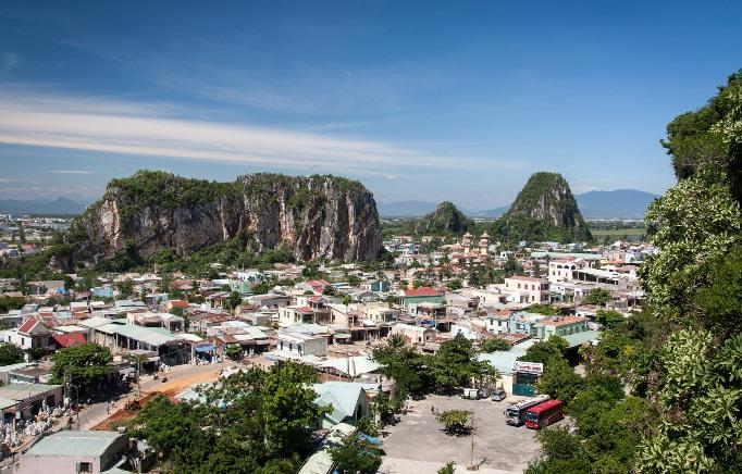 Мраморные горы в Дананге Вьетнам