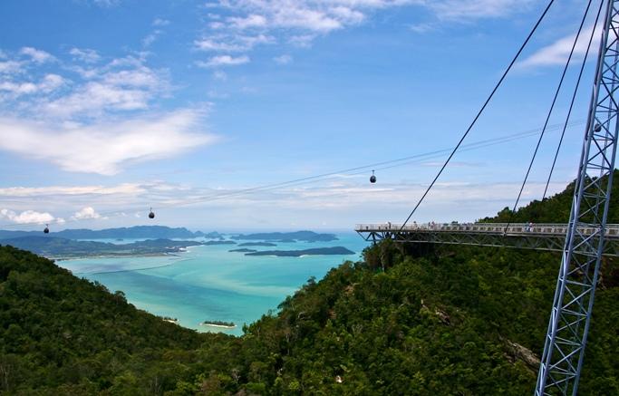 Небесный мост Лангкави Малайзия