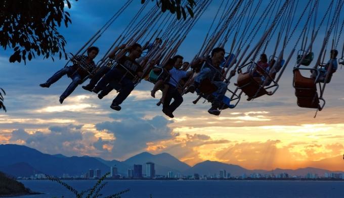Парк развлечений Vinpearl в Нячанге, Вьетнам