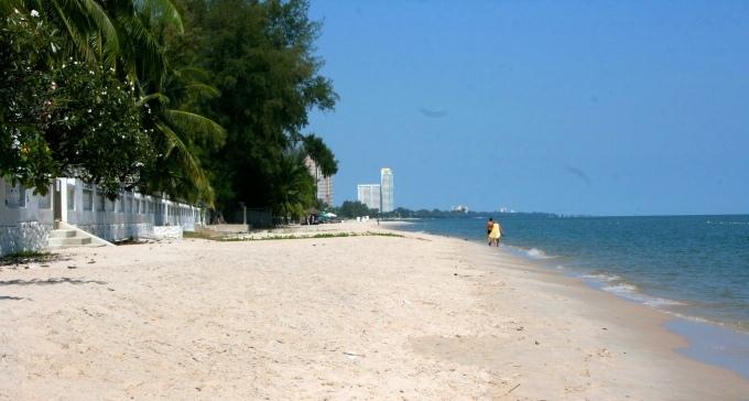 Пляж Ча-Ама рядом с Хуахином