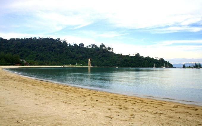 Пляж Пантай Кок на острове Лангкави