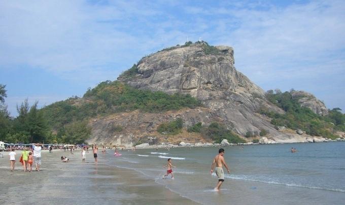 Пляж Такиаб рядом с Хуахином - фото и видео