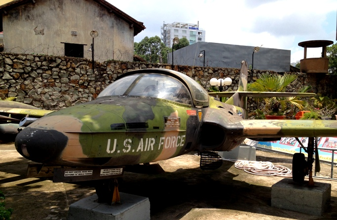 Музей жертв войны Хошимин Вьетнам