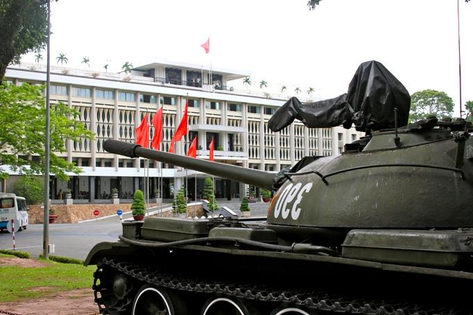 Дворец независимости в Сайгоне