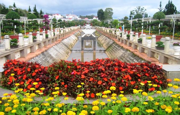 Сад цветов Далат, Вьетнам