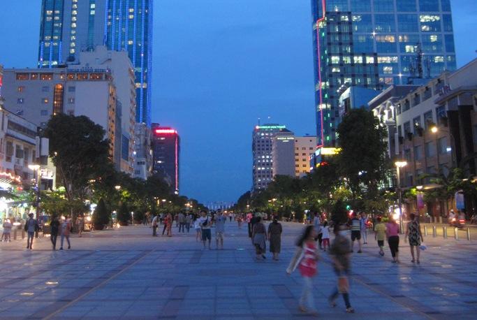 Торговые центры в Хошимине, Вьетнам