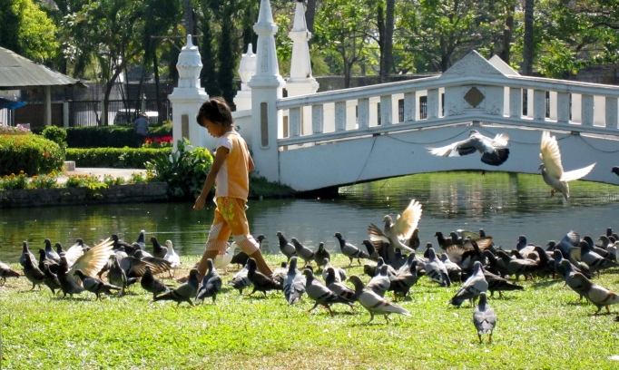 Парк Суан Буак Хат в Чиангмае