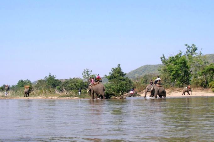Река Кок - одна из достопримечательностей Чианграя