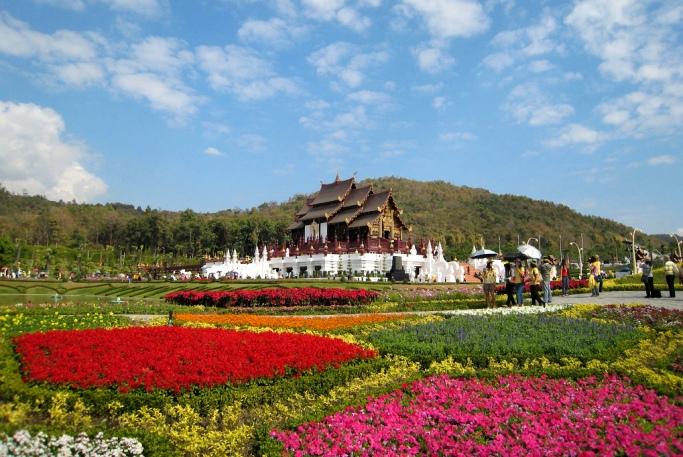 Музей и парк Royal Flora Ratchaphruek