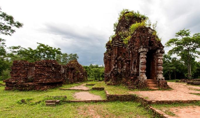 Руины Мишон в Хойане, Вьетнам