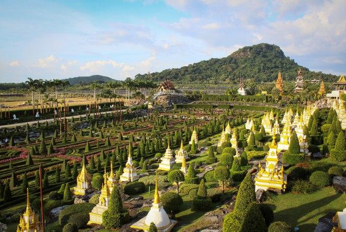 Достопримечательности Паттайи - сад Нонг Нуч