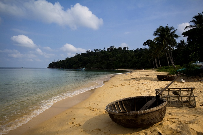 Пляж Ган Дау на Фукуоке