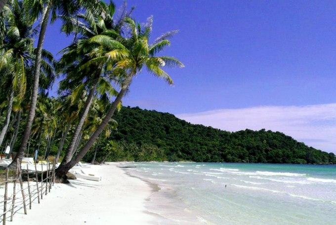 Пляж Бай Сао на остров Фукуок