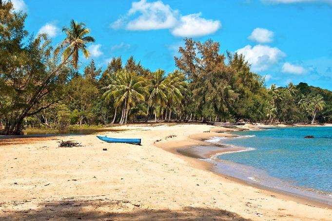 Пляж Онг Ланг (Ong Lang Beach) во Вьетнаме