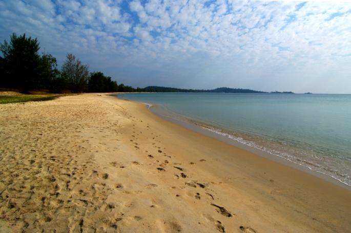 Пляж Вунг Бау на острове Фукуок