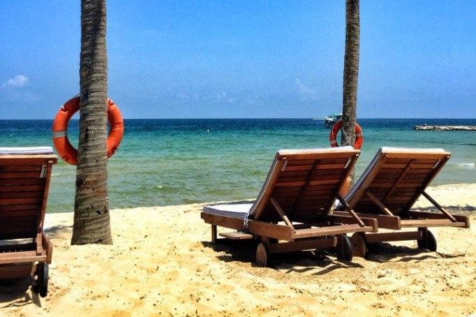 Песок на пляже Бай Дай, остров Фукуок