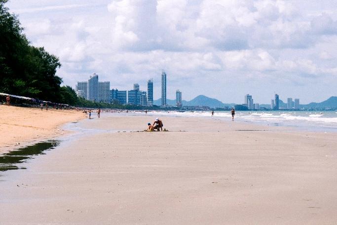 Пляж Пратамнак Паттайя