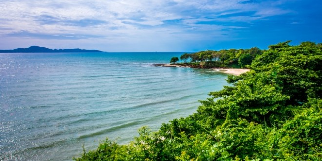 Лучшие чистые пляжи Паттайи, Таиланд