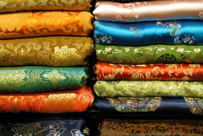 Сувениры и подарки - вьетнамский шелк