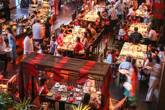 Ресторан Мантра в Паттайе 2016 год