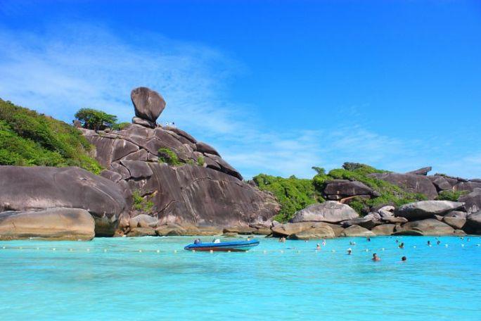 Экскурсия Пхукет Симиланские острова Таиланд 2016