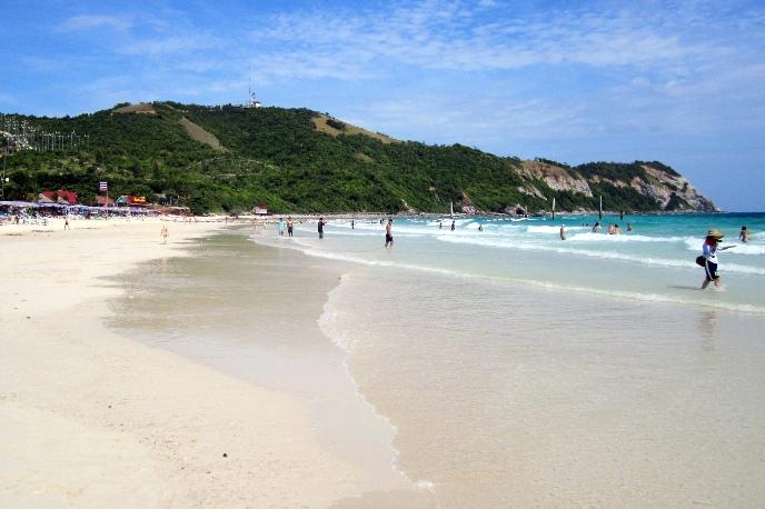 Пляж Саме остров Ко Лан