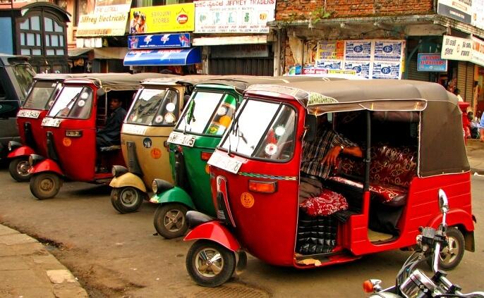 Сколько стоит такси на Шри-Ланке в 2017 году