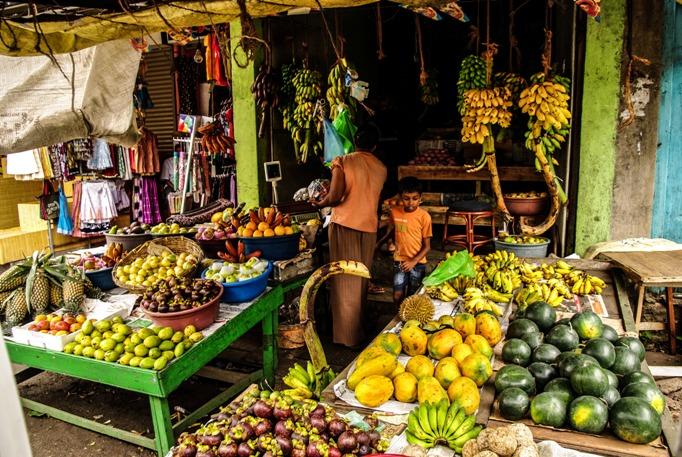 Стоимость фруктов на Шри-Ланке в 2017 году