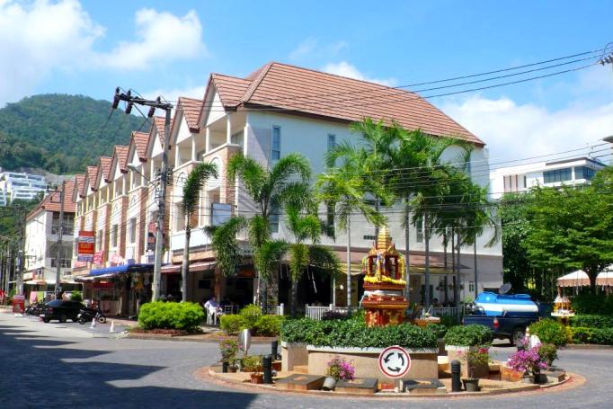 Отель Jinta Andaman 3 звезды рядом с пляжем Ката бич
