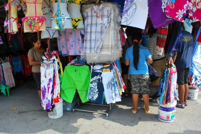 Стоимость одежды в Таиланде 2017