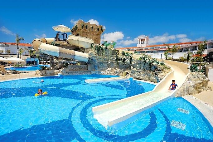 Лучшие отели Кипра для отдыха с детьми все включено Пафос