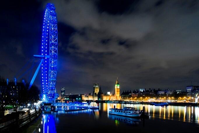 Куда поехать на Новый год Лондон