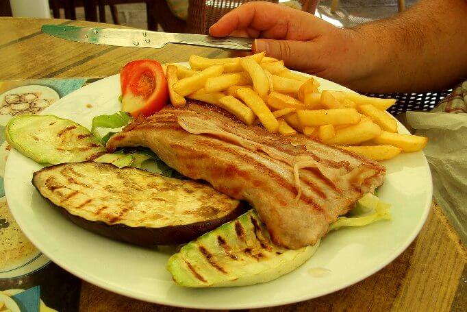 Цены в Черногории на еду 2017