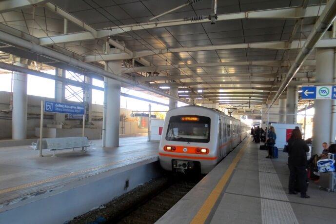 Афины как добраться из аэропорта в центр