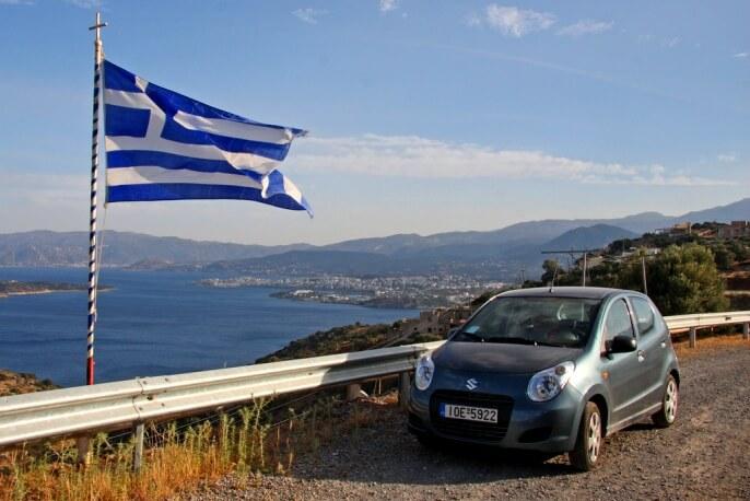 Аренда машины в Греции 2019