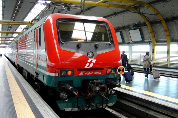Как добраться из аэропорта Рима до вокзала Термини