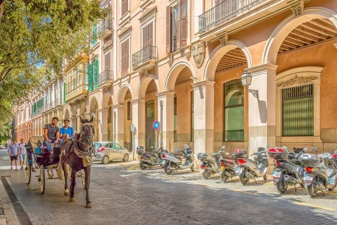 Стоимость транспорта в Испании