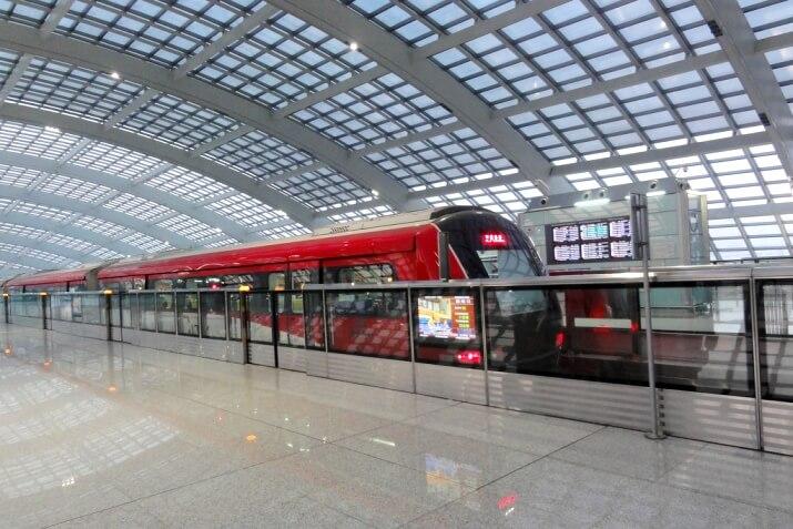 Как добраться до аэропорта Пекина на метро