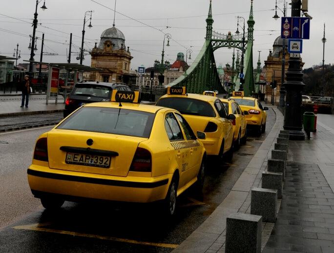 Такси в Будапеште из аэропорта в отель